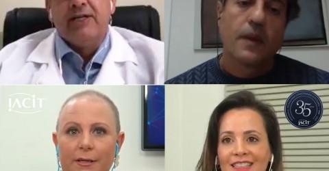 Médicos falam sobre 'Verdades e Mitos sobre a Covid-19' em live promovida pelo RH da IACIT