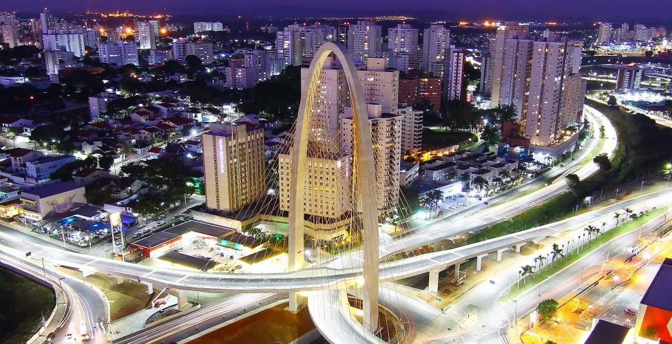 Arco da Inovação, em São José dos Campos