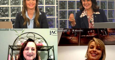 Live sobre Saúde Mental debate questões importantes e gera grande interação dos colaboradores da IACIT
