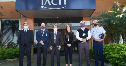 IACIT recebe visita de comitiva da AEB e ITA