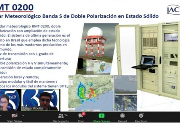 IACIT participa de eventos sobre Meteorologia com instituições peruanas