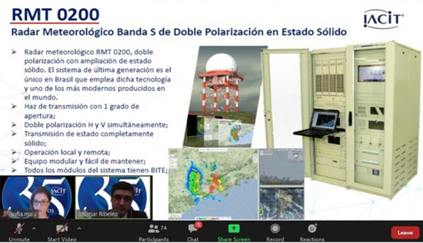 IACIT participa de eventos sobre Meteorologia