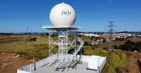 Ministro Marcos Pontes inaugura Radar Meteorológico RMT 0200 construído pela IACIT em parceria com o Cemaden/MCTI