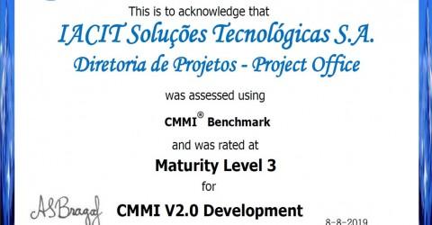 IACIT conquista certificação CMMI Nível 3