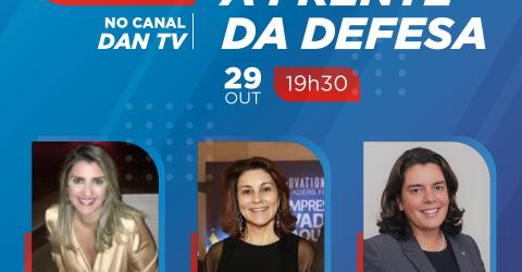 """IACIT participa da Live """"Mulheres à Frente da Defesa"""" promovida pelo DAN TV."""