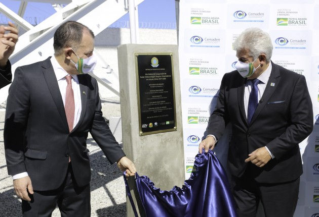 Ministro Marcos Pontes inaugura Radar Meteorológico RMT 0200 en São José dos Campos