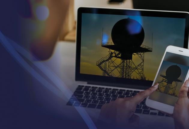 Mídia Nacional destaca inauguração do Radar Meteorológico RMT 0200