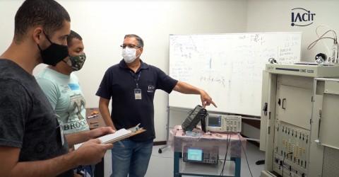 Técnicos do DECEA fazem treinamento do DME na IACIT