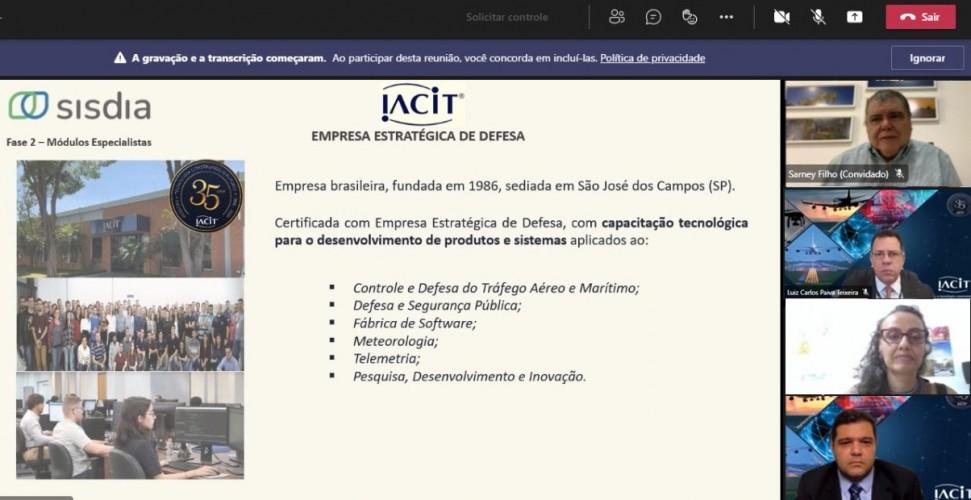 Apresentação foi feita pelo presidente da IACIT